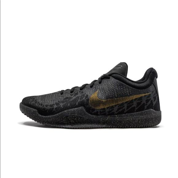 Nike Shoes   Kobe Mamba Rage Black Gold